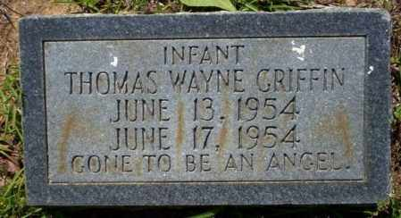 GRIFFIN, THOMAS WAYNE - Ouachita County, Arkansas | THOMAS WAYNE GRIFFIN - Arkansas Gravestone Photos