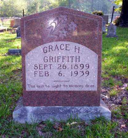 GRIFFITH, GRACE H - Ouachita County, Arkansas | GRACE H GRIFFITH - Arkansas Gravestone Photos