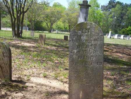 GRIGGS, RHODAM S. - Ouachita County, Arkansas | RHODAM S. GRIGGS - Arkansas Gravestone Photos