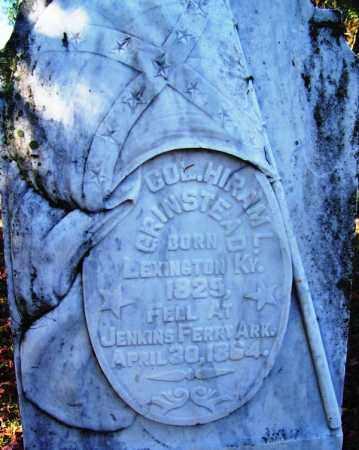 GRINSTEAD (VETERAN CSA), HIRAM L - Ouachita County, Arkansas | HIRAM L GRINSTEAD (VETERAN CSA) - Arkansas Gravestone Photos