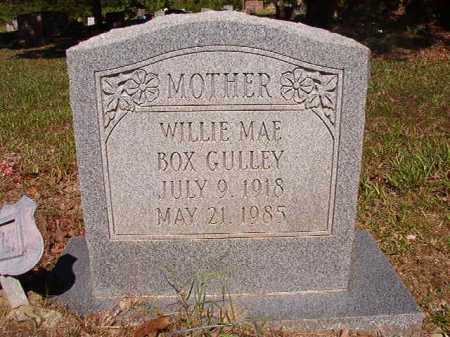 BOX GULLEY, WILLIE MAE - Ouachita County, Arkansas | WILLIE MAE BOX GULLEY - Arkansas Gravestone Photos