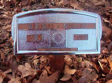 GULLEY, ZEBEDEE - Ouachita County, Arkansas | ZEBEDEE GULLEY - Arkansas Gravestone Photos