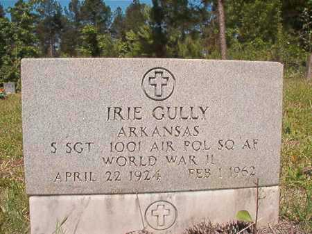 GULLY (VETERAN WWII), IRIE - Ouachita County, Arkansas | IRIE GULLY (VETERAN WWII) - Arkansas Gravestone Photos