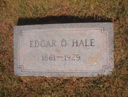 HALE, EDGAR O - Ouachita County, Arkansas | EDGAR O HALE - Arkansas Gravestone Photos