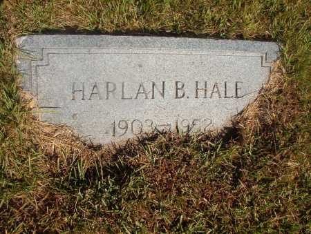 HALE, HARLAN B - Ouachita County, Arkansas | HARLAN B HALE - Arkansas Gravestone Photos