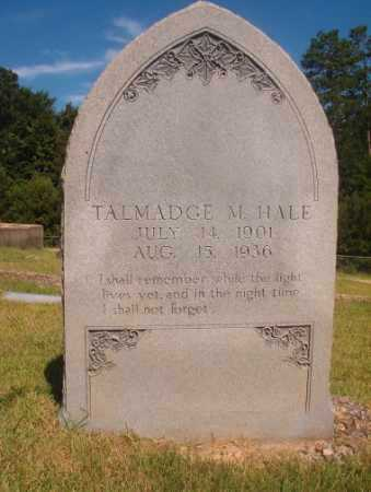 HALE, TALMADGE M - Ouachita County, Arkansas | TALMADGE M HALE - Arkansas Gravestone Photos