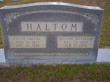 HALTOM, LILLIE OBITHA - Ouachita County, Arkansas | LILLIE OBITHA HALTOM - Arkansas Gravestone Photos