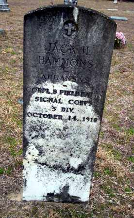 HAMMONS (VETERAN), JACK H - Ouachita County, Arkansas | JACK H HAMMONS (VETERAN) - Arkansas Gravestone Photos