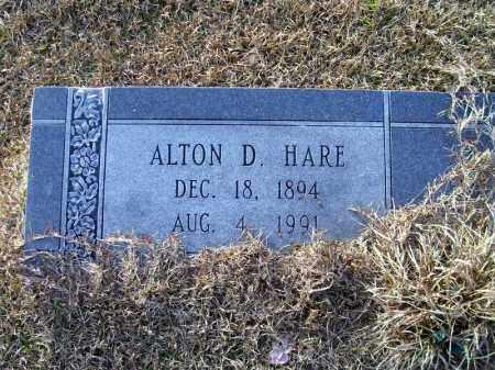 HARE, ALTON D - Ouachita County, Arkansas | ALTON D HARE - Arkansas Gravestone Photos