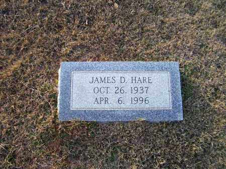 HARE, JAMES D - Ouachita County, Arkansas | JAMES D HARE - Arkansas Gravestone Photos