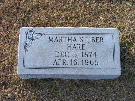 HARE, MARTHA S - Ouachita County, Arkansas | MARTHA S HARE - Arkansas Gravestone Photos