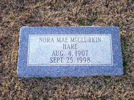 HARE, NORA MAE - Ouachita County, Arkansas | NORA MAE HARE - Arkansas Gravestone Photos