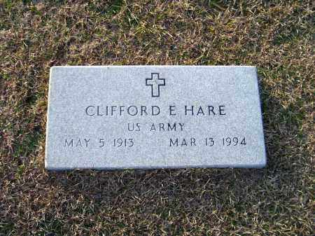 HARE (VETERAN), CLIFFORD E - Ouachita County, Arkansas | CLIFFORD E HARE (VETERAN) - Arkansas Gravestone Photos