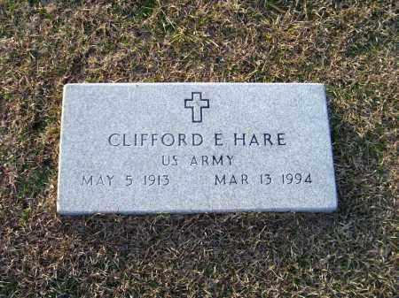 HARE (VETERAN), CLIFFORD E - Ouachita County, Arkansas | CLIFFORD E HARE (VETERAN) - Arkansas Gravestone Photos