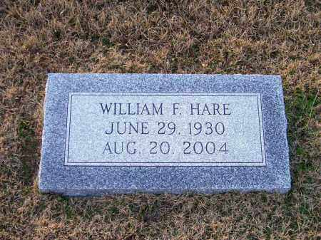HARE, WILLIAM F - Ouachita County, Arkansas | WILLIAM F HARE - Arkansas Gravestone Photos