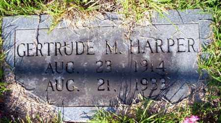 HARPER, GERTRUDE M - Ouachita County, Arkansas | GERTRUDE M HARPER - Arkansas Gravestone Photos