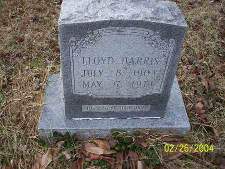 HARRIS, LLOYD - Ouachita County, Arkansas | LLOYD HARRIS - Arkansas Gravestone Photos