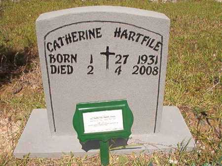 HARTFILE, CATHERINE - Ouachita County, Arkansas | CATHERINE HARTFILE - Arkansas Gravestone Photos