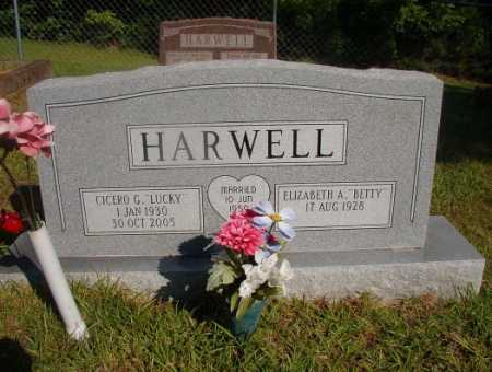"HARWELL, CICERO G ""LUCKY"" - Ouachita County, Arkansas 