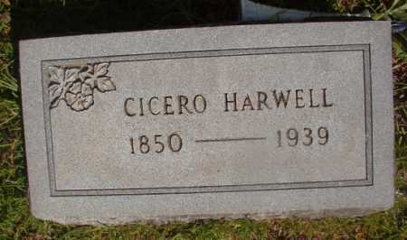 HARWELL, CICERO - Ouachita County, Arkansas | CICERO HARWELL - Arkansas Gravestone Photos