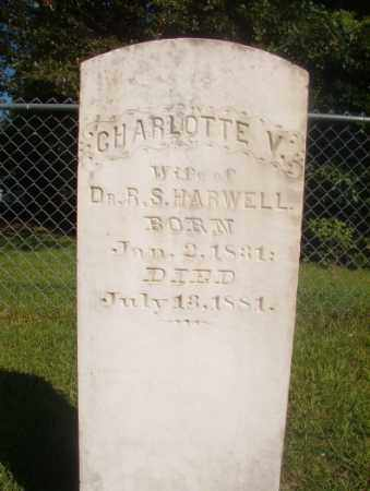 HARWELL, CHARLOTTE V - Ouachita County, Arkansas | CHARLOTTE V HARWELL - Arkansas Gravestone Photos