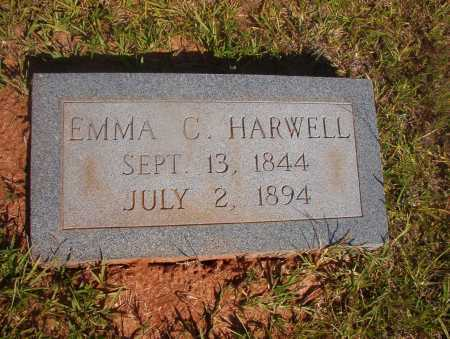 HARWELL, EMMA C - Ouachita County, Arkansas | EMMA C HARWELL - Arkansas Gravestone Photos