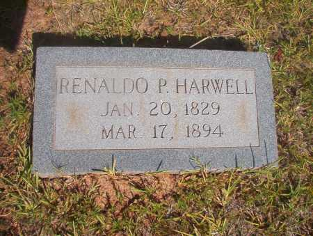 HARWELL, RENALDO P - Ouachita County, Arkansas | RENALDO P HARWELL - Arkansas Gravestone Photos