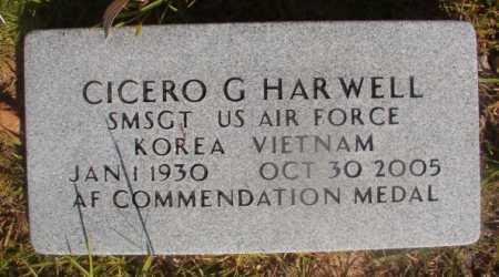 HARWELL (VETERAN 2 WARS), CICERO G - Ouachita County, Arkansas | CICERO G HARWELL (VETERAN 2 WARS) - Arkansas Gravestone Photos