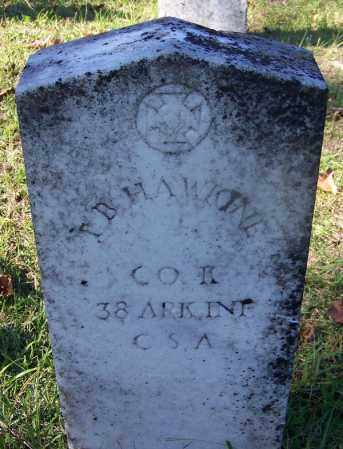 HAWKINE (VETERAN CSA), T B - Ouachita County, Arkansas | T B HAWKINE (VETERAN CSA) - Arkansas Gravestone Photos