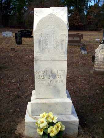 HAYS, SARAH E - Ouachita County, Arkansas | SARAH E HAYS - Arkansas Gravestone Photos
