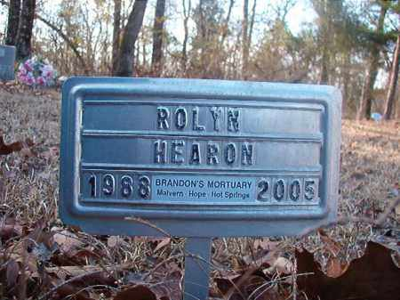 HEARON, ROLYN - Ouachita County, Arkansas | ROLYN HEARON - Arkansas Gravestone Photos