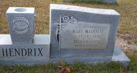 HENDRIX, MARY NATHALIE - Ouachita County, Arkansas | MARY NATHALIE HENDRIX - Arkansas Gravestone Photos