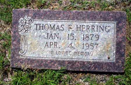 HERRING, THOMAS F. - Ouachita County, Arkansas | THOMAS F. HERRING - Arkansas Gravestone Photos