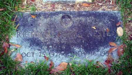 HESTER (VETERAN WWII), RICHARD PARKS - Ouachita County, Arkansas | RICHARD PARKS HESTER (VETERAN WWII) - Arkansas Gravestone Photos
