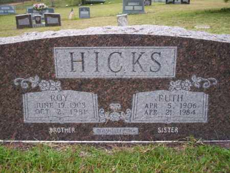 HICKS, ROY - Ouachita County, Arkansas | ROY HICKS - Arkansas Gravestone Photos