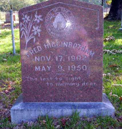 HIGGINBOTHAM, FRED - Ouachita County, Arkansas | FRED HIGGINBOTHAM - Arkansas Gravestone Photos