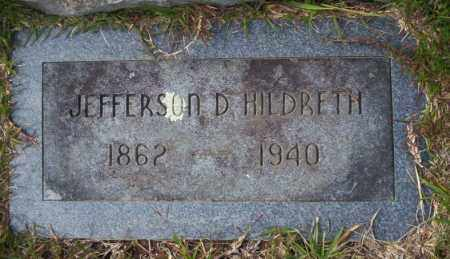 HILDRETH, JEFFERSON D - Ouachita County, Arkansas | JEFFERSON D HILDRETH - Arkansas Gravestone Photos