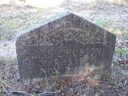 HOBSON, ABBIE - Ouachita County, Arkansas | ABBIE HOBSON - Arkansas Gravestone Photos