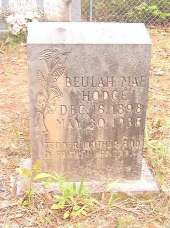 HODGE, BEULAH MAE - Ouachita County, Arkansas | BEULAH MAE HODGE - Arkansas Gravestone Photos