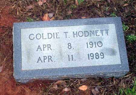 HODNETT, GOLDIE - Ouachita County, Arkansas | GOLDIE HODNETT - Arkansas Gravestone Photos