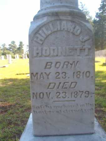 HODNETT, HILLIARD J - Ouachita County, Arkansas | HILLIARD J HODNETT - Arkansas Gravestone Photos