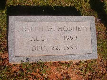 HODNETT, JOSEPH W - Ouachita County, Arkansas | JOSEPH W HODNETT - Arkansas Gravestone Photos