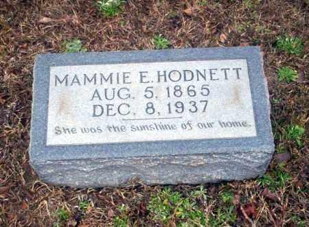 HODNETT, MAMIE E - Ouachita County, Arkansas | MAMIE E HODNETT - Arkansas Gravestone Photos