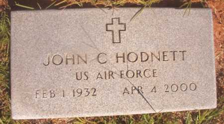 HODNETT (VETERAN), JOHN C - Ouachita County, Arkansas | JOHN C HODNETT (VETERAN) - Arkansas Gravestone Photos