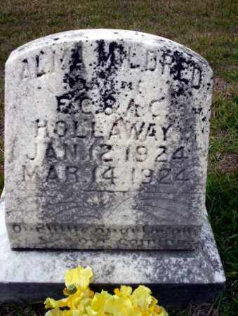 HOLLAWAY, ALMA MILDRED - Ouachita County, Arkansas | ALMA MILDRED HOLLAWAY - Arkansas Gravestone Photos