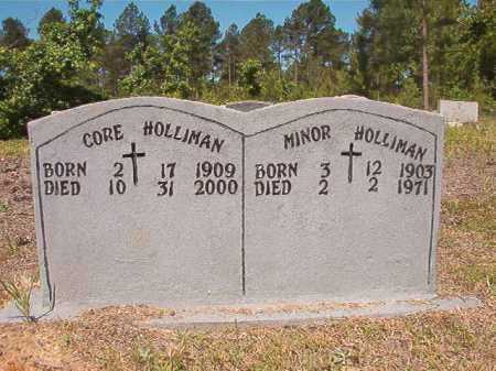 HOLLIMAN, MINOR - Ouachita County, Arkansas | MINOR HOLLIMAN - Arkansas Gravestone Photos