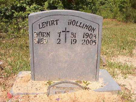 HOLLIMAN, LEVIRT - Ouachita County, Arkansas | LEVIRT HOLLIMAN - Arkansas Gravestone Photos