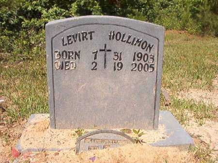 HOLLIMON, LEVIRT - Ouachita County, Arkansas | LEVIRT HOLLIMON - Arkansas Gravestone Photos
