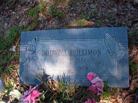 HOLLIMON, DODWELL - Ouachita County, Arkansas | DODWELL HOLLIMON - Arkansas Gravestone Photos