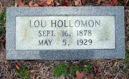 HOLLOMAN, LOU - Ouachita County, Arkansas | LOU HOLLOMAN - Arkansas Gravestone Photos